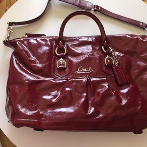 Coach purse leather handbag
